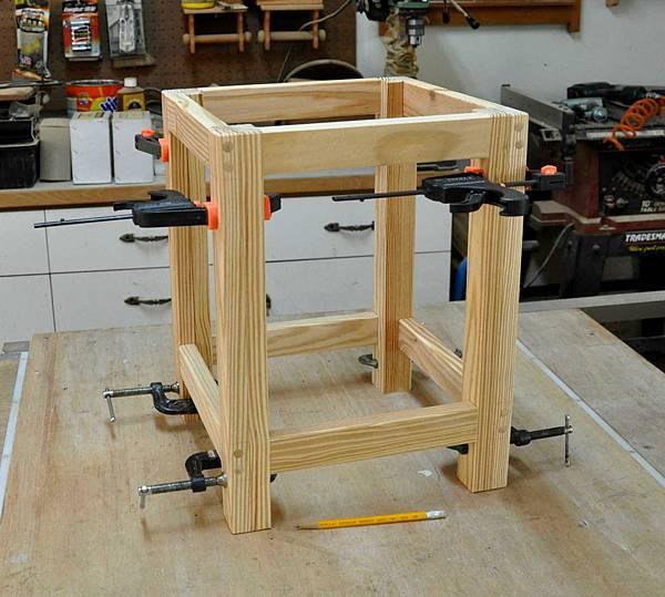 鄉村風板凳DIY 004