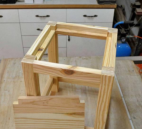 鄉村風板凳DIY 005