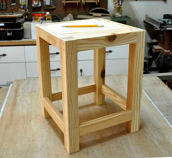鄉村風板凳DIY 006