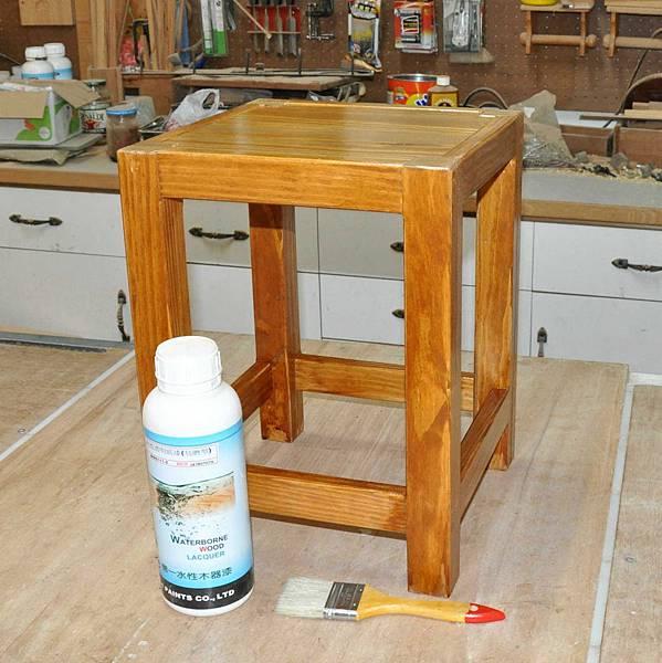 鄉村風板凳DIY 008