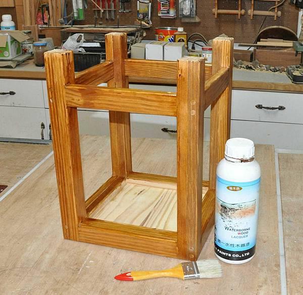 鄉村風板凳DIY 007