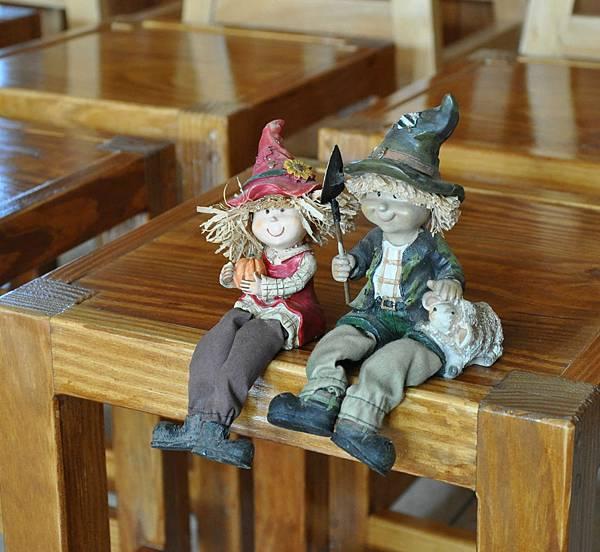 鄉村風板凳DIY 010