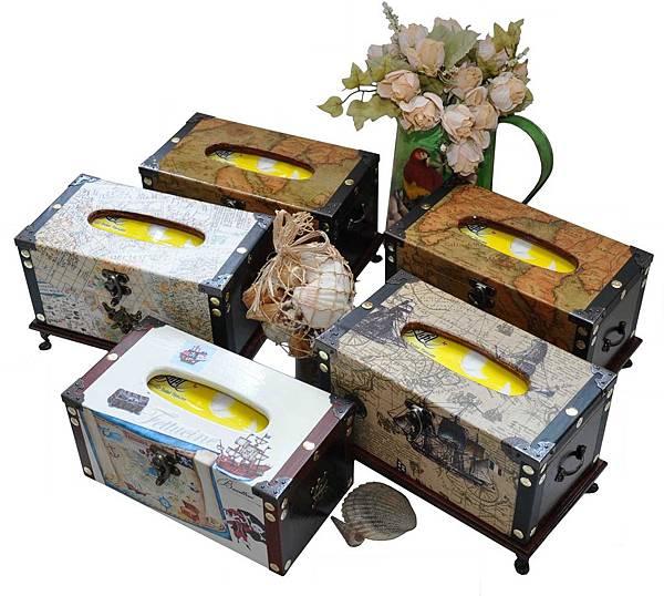 藏寶圖的衛生紙盒 001