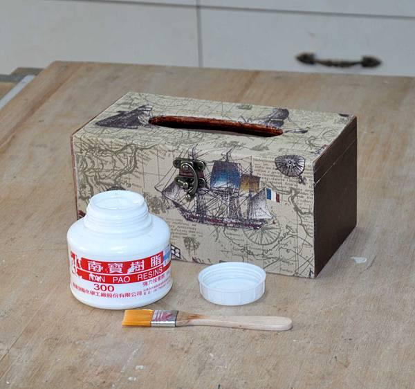 藏寶圖的衛生紙盒 005