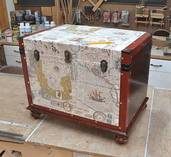 有著航海圖的藏寶箱 013