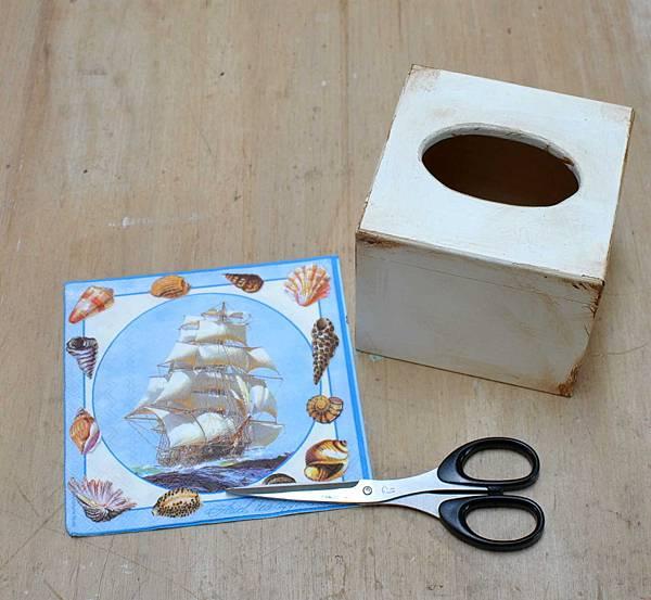 餐巾紙拼貼 004