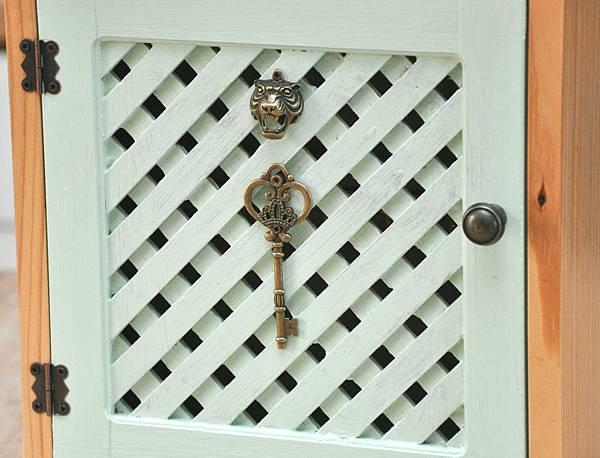 可愛鄉村風鑰匙盒 014