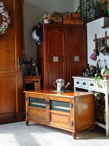 新的古董矮櫃 016