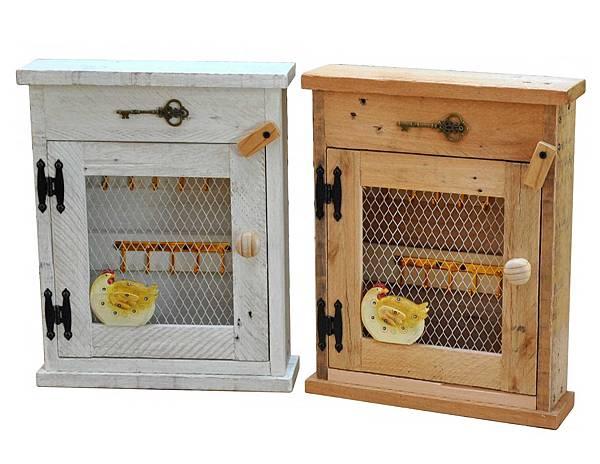 用棧板做的鑰匙盒 (1)