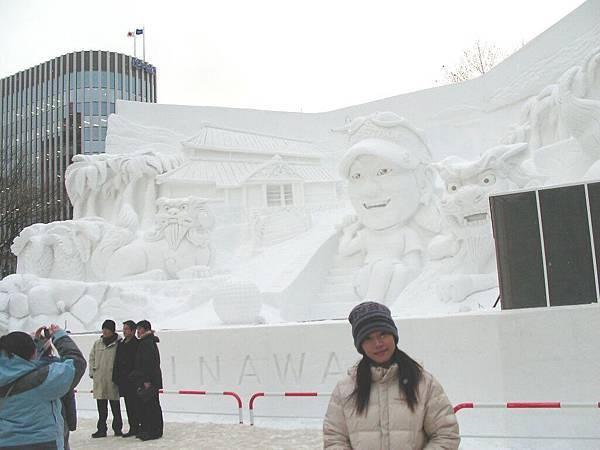 札幌大通公園雪祭1