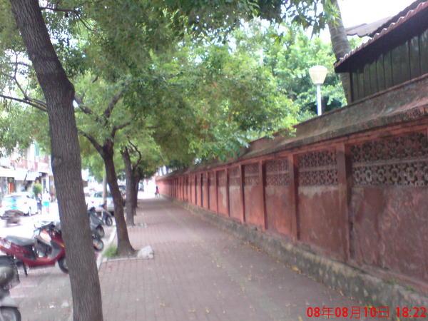 赤崁樓圍牆