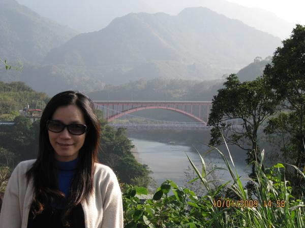 遠眺復興橋及羅浮橋