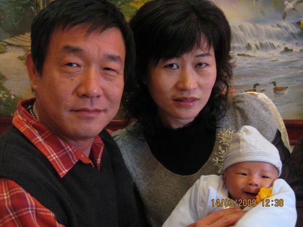 小叔公跟嬸婆合照