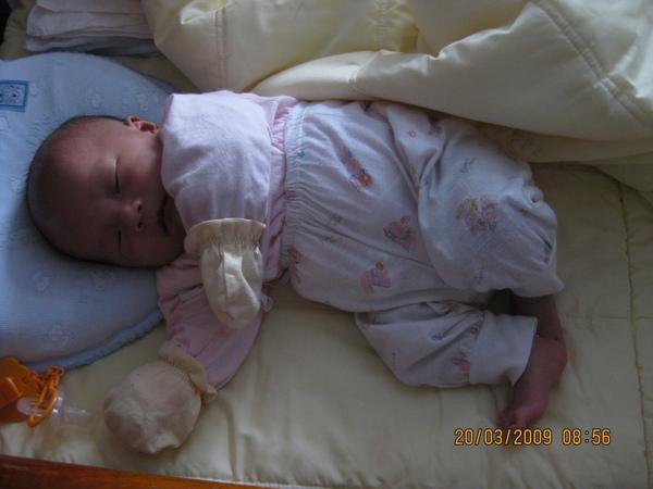 可愛的睡覺姿勢