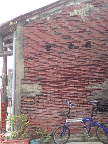 有特色的紅牆