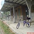 鹽水車站月台