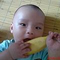 耶,吃香蕉