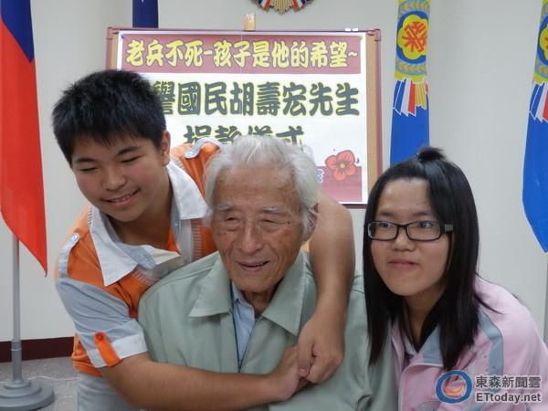 老榮民胡壽宏與呂振誠的善心與義舉,將永遠溫暖社會