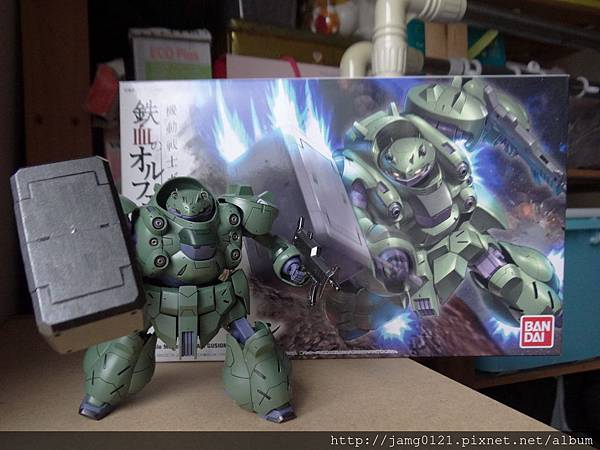 青蛙鋼彈製作_09