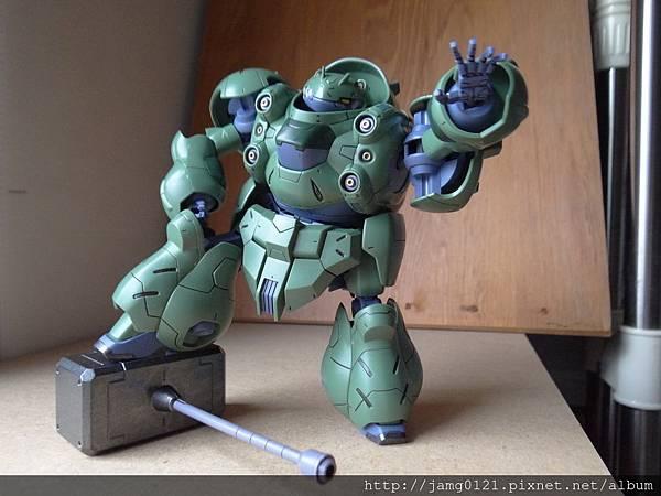 青蛙鋼彈製作_17