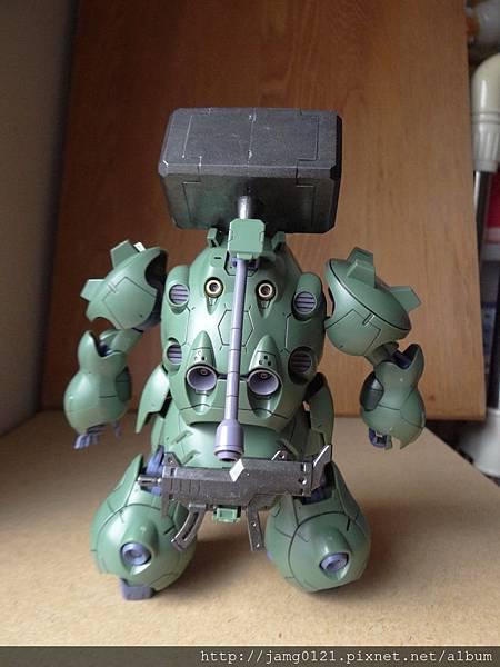 青蛙鋼彈製作_21