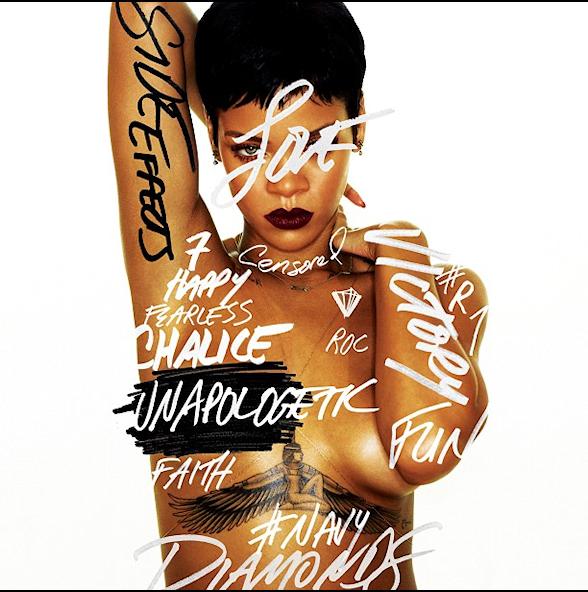 Rihanna,第七張專輯「Unapologetic」封面曝光
