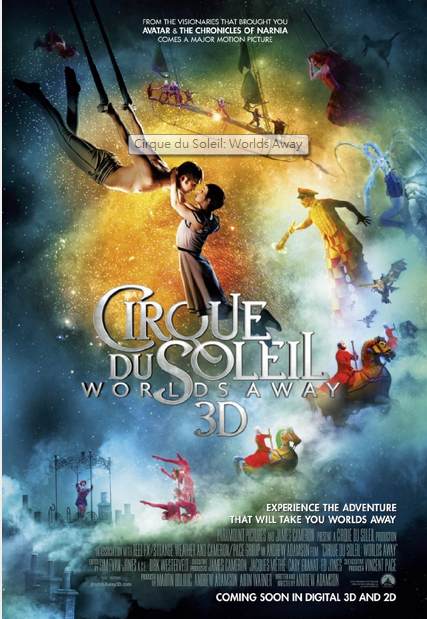 太陽劇團:奇幻世界Cirque du Soleil: Worlds Away