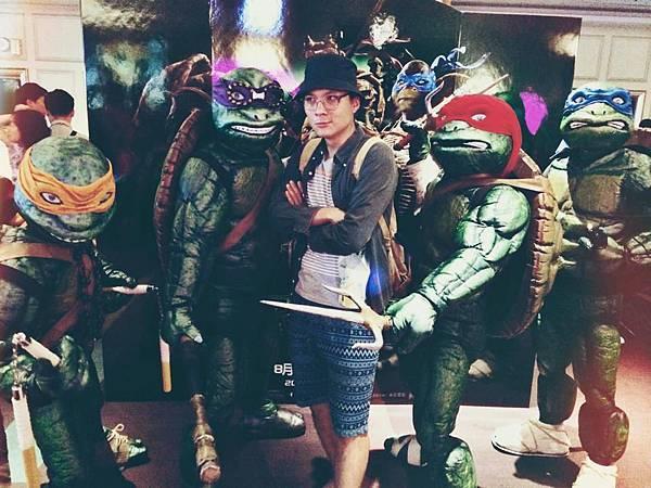 【電影】忍者龜:變種世代-中二烏龜好可愛