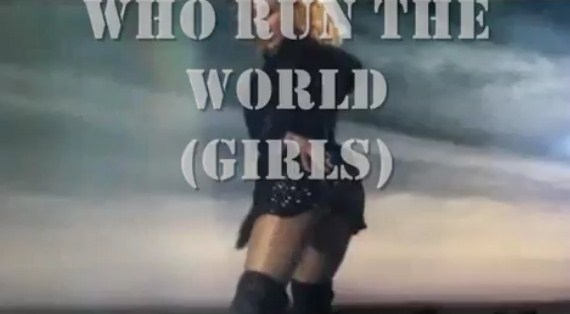 BEYONCE - WHO RUN THE WORLD