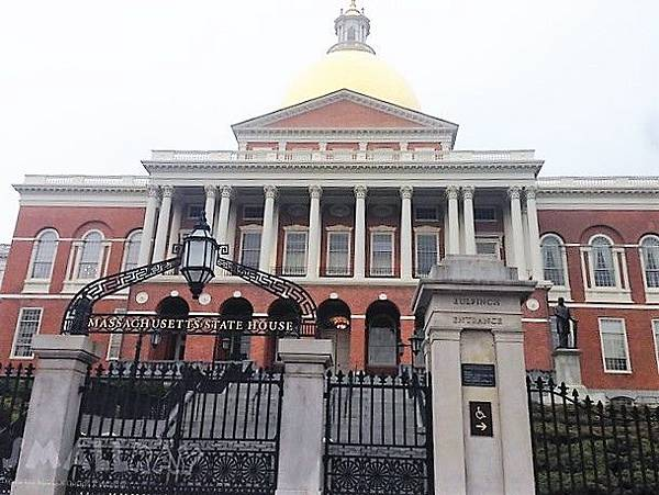 美東旅遊-波士頓_波士頓旅遊好吃好玩行程攻略-Massachusetts State House 麻州議會