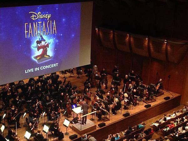 紐約林肯中心Lincoln Center-紐約愛樂表演-Disney Fantasia