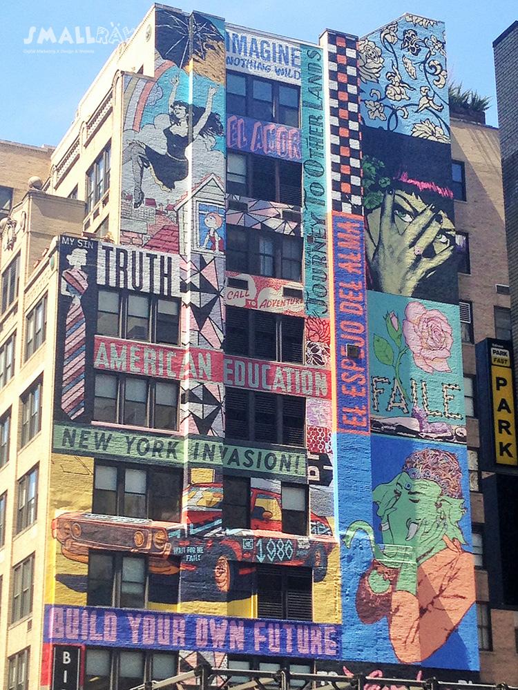 紐約街景藝術-塗鴉設計2