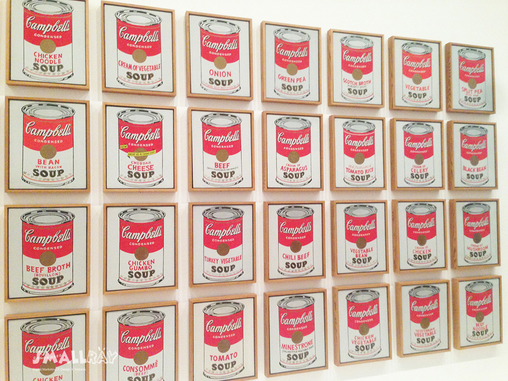 MoMA現代藝術博物館-安迪沃荷-康寶罐頭