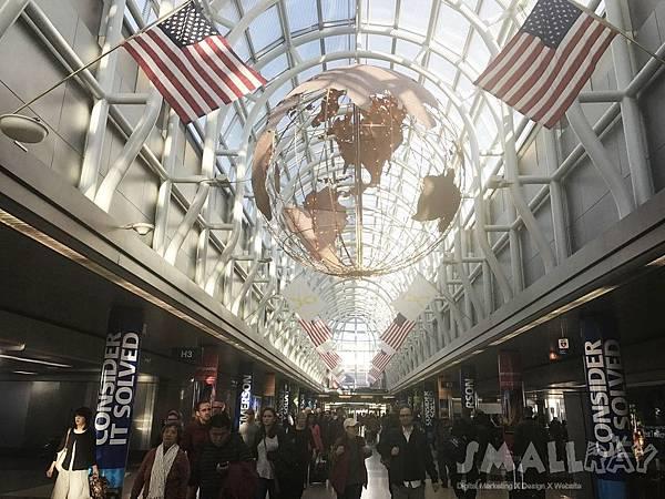 【美國芝加哥旅遊】芝加哥四天三夜超順路旅遊攻略-芝加哥奧黑爾國際機場O'Hare Airport