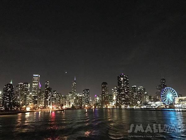 芝加哥看天際線坐船很推薦當地老字號的Wendellaboats 船公司-【美國芝加哥旅遊】芝加哥四天三夜超順路旅遊攻略