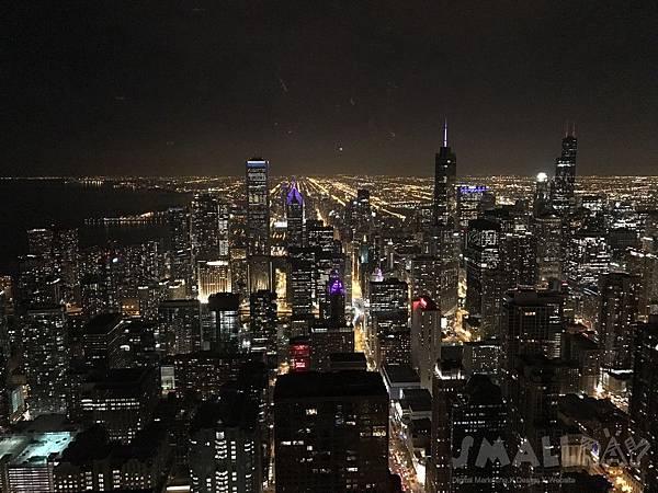 約翰漢考克大樓 John Hancock (360 Chicago) -芝加哥行程推薦,芝加哥行程攻略,芝加哥夜景推薦