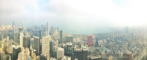 威爾斯大樓Willis Tower,希爾斯大樓Sears Tower-芝加哥行程推薦,芝加哥行程攻略,芝加哥夜景推薦