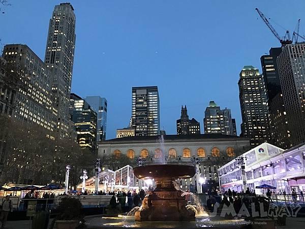 紐約Bryant park,紐約行程規劃,紐約行程推薦,紐約旅遊