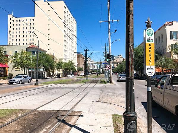 美國紐奧良交通,紐奧良叮叮車搭乘,紐奧良行程推薦