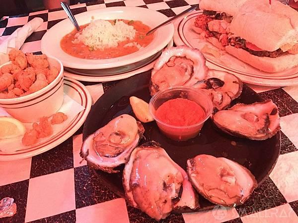 美國紐奧良美食行程推薦,紐奧良生蠔餐廳推薦,紐奧良必吃餐廳推薦
