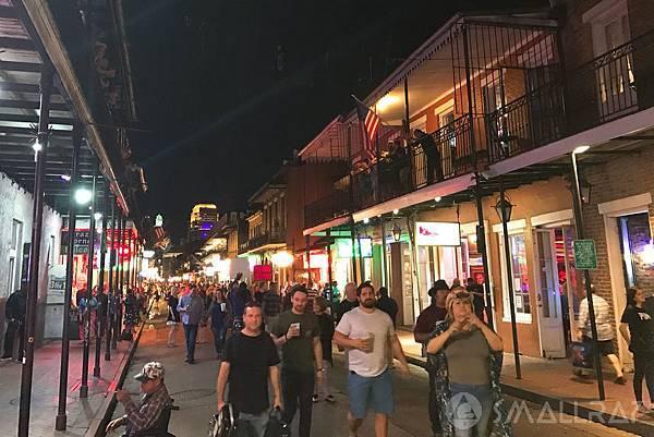 美國紐奧良行程推薦,紐奧良法國區波本街Bourbon Street,紐奧良法國區波旁街Bourbon Street,紐奧良必去景點推薦