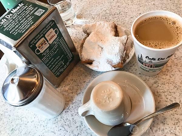 美國紐奧良美食行程推薦,紐奧良美食推薦,紐奧良必吃美食,紐奧良法式甜甜圈,紐奧良Cafe Du Monde