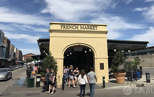美國紐奧良美食行程推薦,紐奧良法國市集French Market Place,紐奧良有名市集,紐奧良法國市集美食
