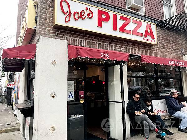美國紐約銅板美食推薦-紐約好吃高CP值平價銅板美食-13-Joes-pizza--紐約好吃披薩-紐約披薩推薦
