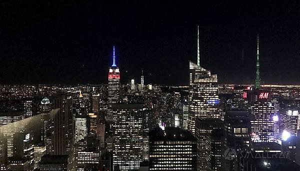 紐約夜景推薦,洛克斐勒中心夜景,紐約景點行程推薦,紐約必去