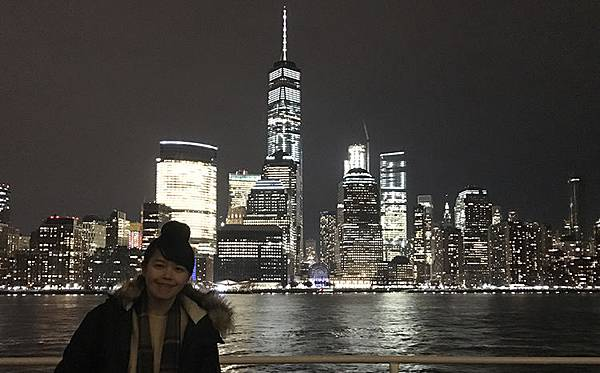 紐約搭船看曼哈頓天際線夜景-自由女神夜景-紐約行程推薦-紐約必去紐約必做