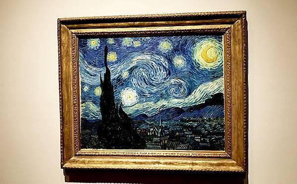 MoMA紐約現代藝術博物館-梵谷的星夜-紐約必去-紐約行程推薦