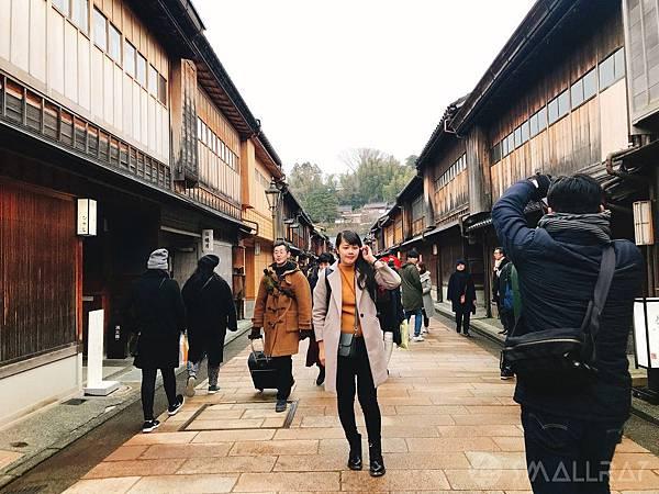 日本中部北陸地區-金澤市必去景點-東茶屋街-世界文化遺產