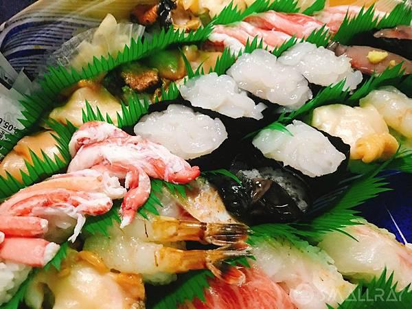 日本中部北陸地區-金澤市必吃美食推薦-金澤必吃最強生魚片握壽司Mori Mori Sushi もりもり寿し金沢駅前店