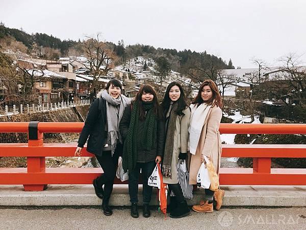 日本中部北陸地區必去景點-高山市高山老街-中橋